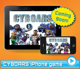 CYBOARS iPhone and iPad game coming soon!